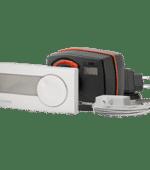 Ел.задвижка с вграден контролер ESBE CRD122 външна/вътрешна температура