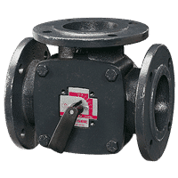 Фланшови трипътен смесителен вентил ESBE 3F 125